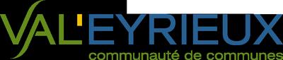 Logo de la Communauté de Communes Val'Eyrieux, partenaire financier, administratif et logistique de la formation